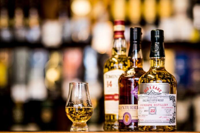 A whiskey tasting