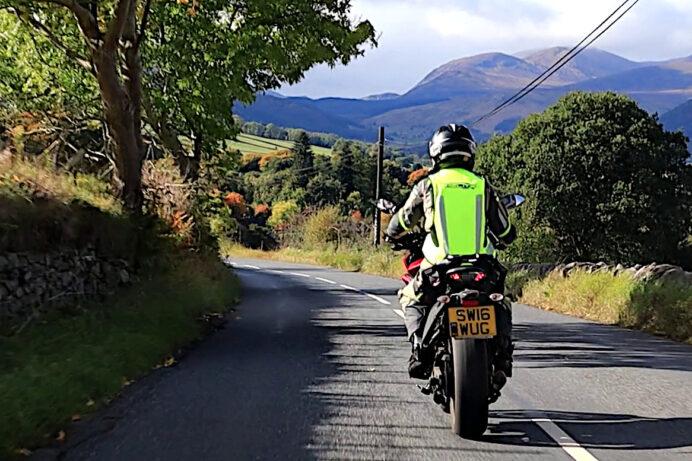 Biking near Aberfeldy, Perthshire