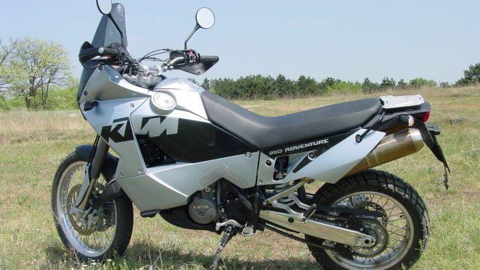 Big KTM Adventure Bike