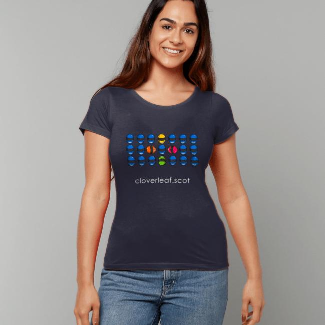 Cloverleaf Helmets Women's Fitted T-Shirt