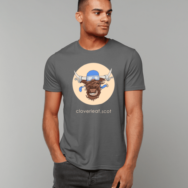 Cloverleaf Coo Unisex T-Shirt