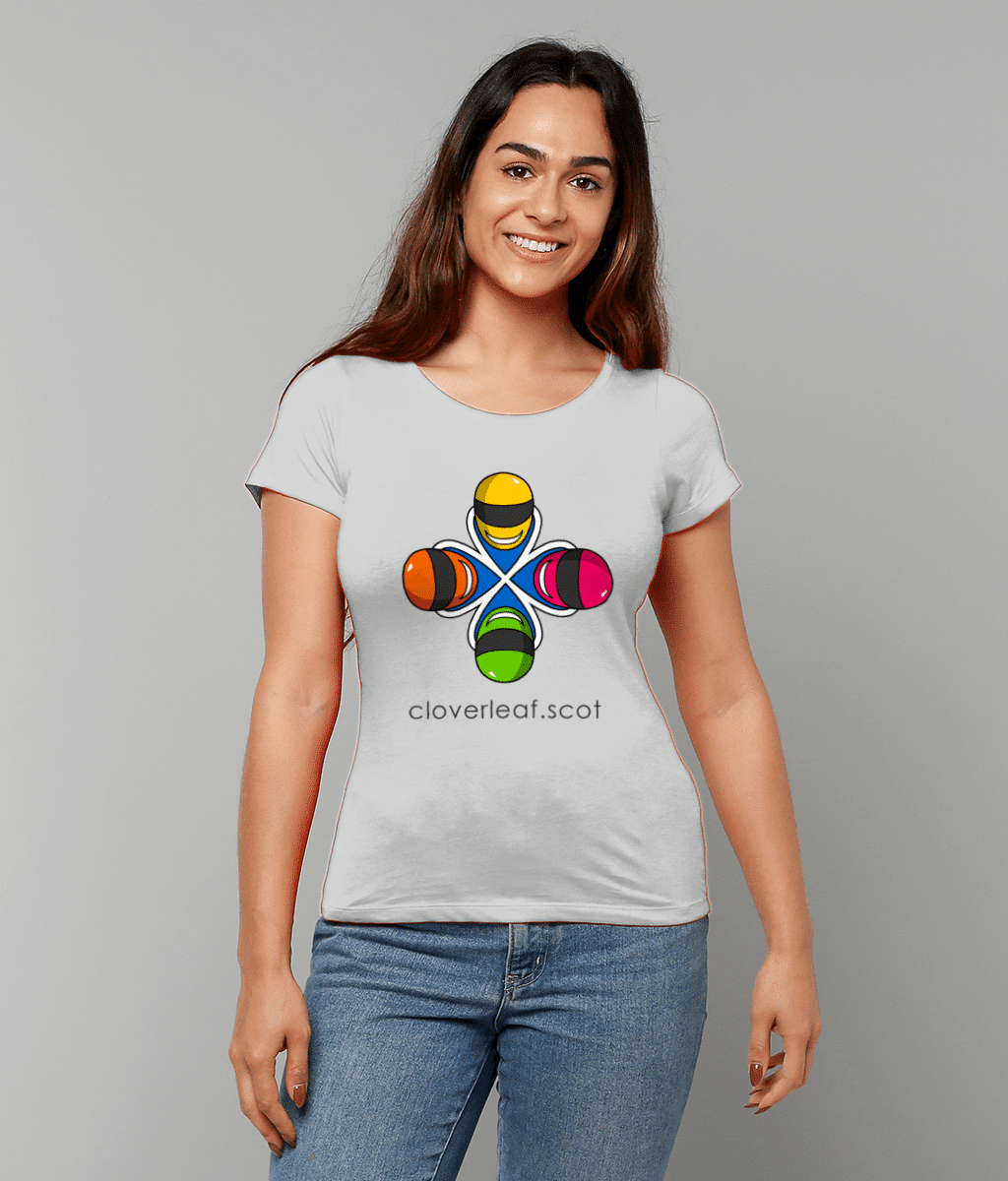 Cloverleaf Logo Women's Fitted T-Shirt