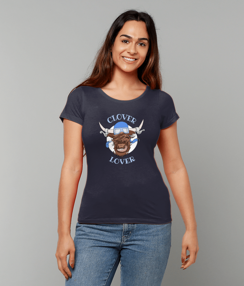 Clover Lover Women's Fitted T-Shirt