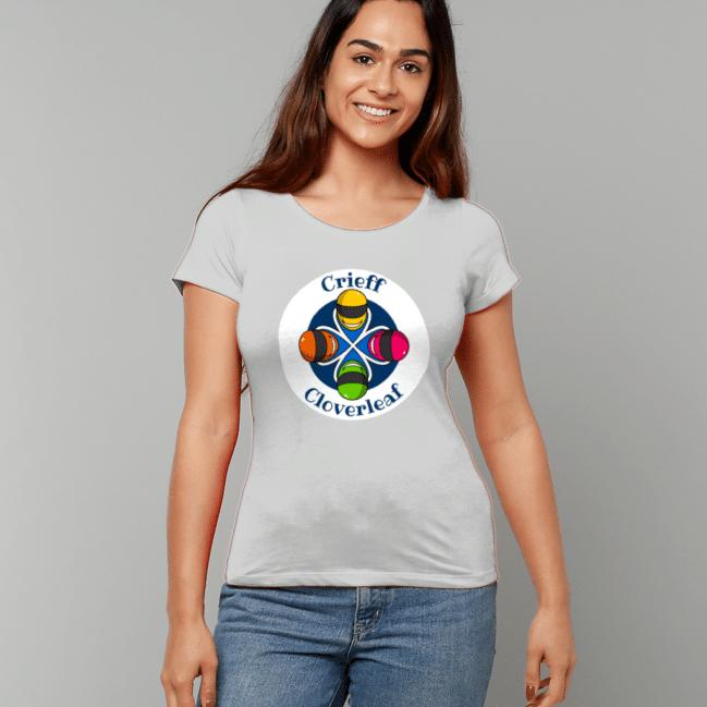 Cloverleaf Stamp Women's Fitted T-Shirt