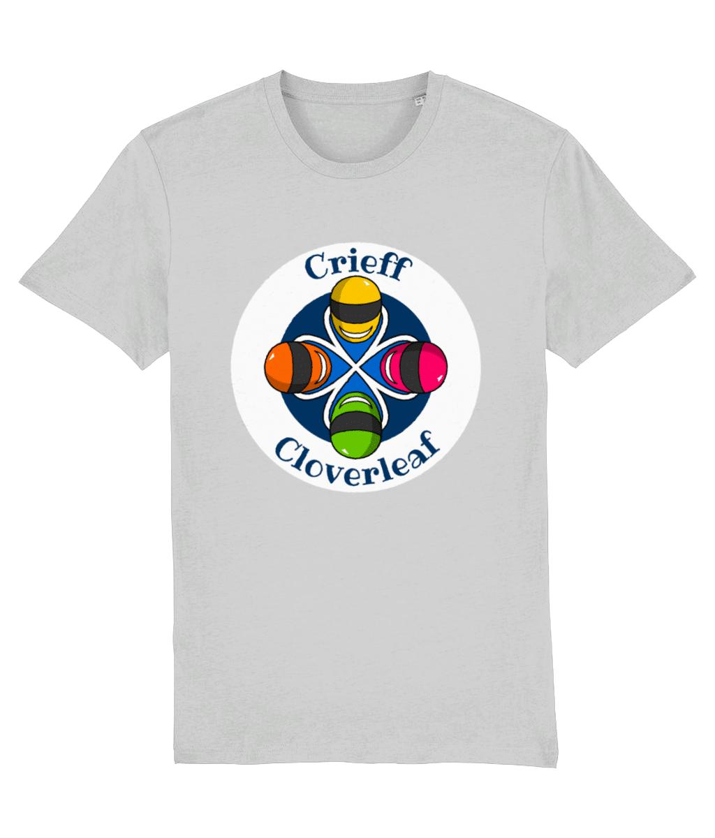 Cloverleaf Stamp – Unisex Tee (Heather Grey)