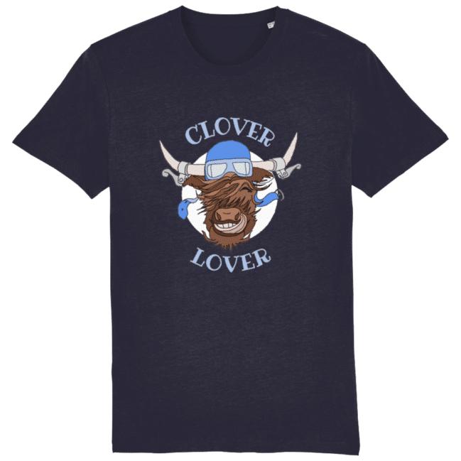Clover Lover – Unisex Tee (French Navy)