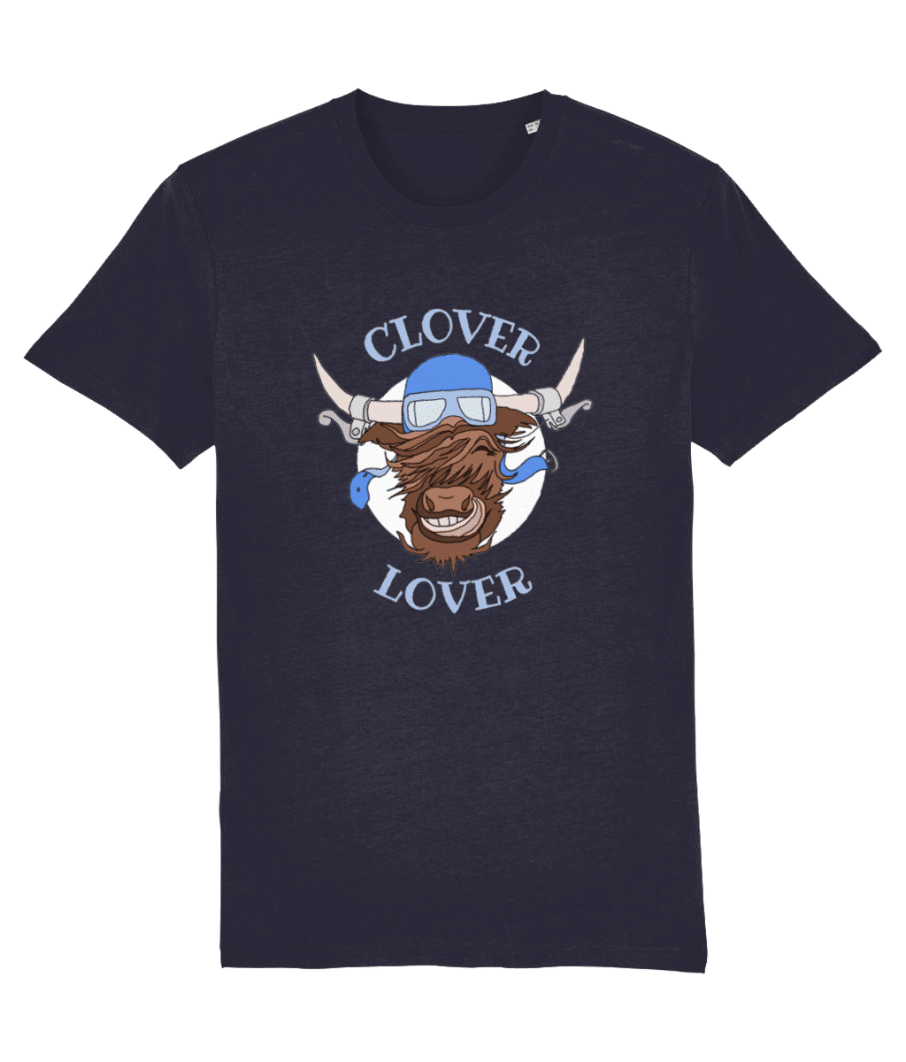 Clover Lover – Unisex Tee (French Navy)