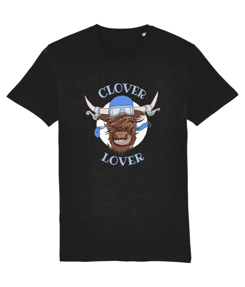 Clover Lover – Unisex Tee (Black)