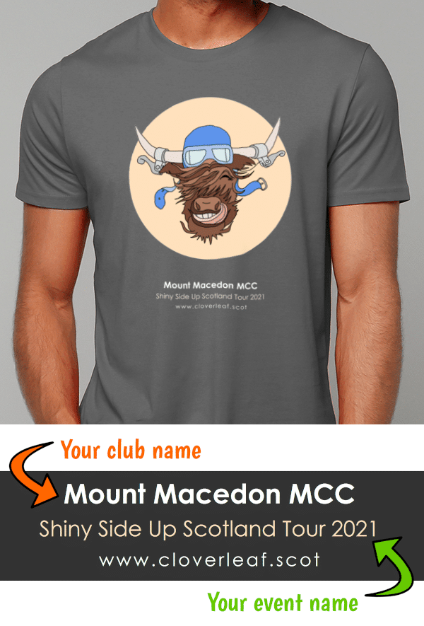 Design your bespoke Club T-Shirt