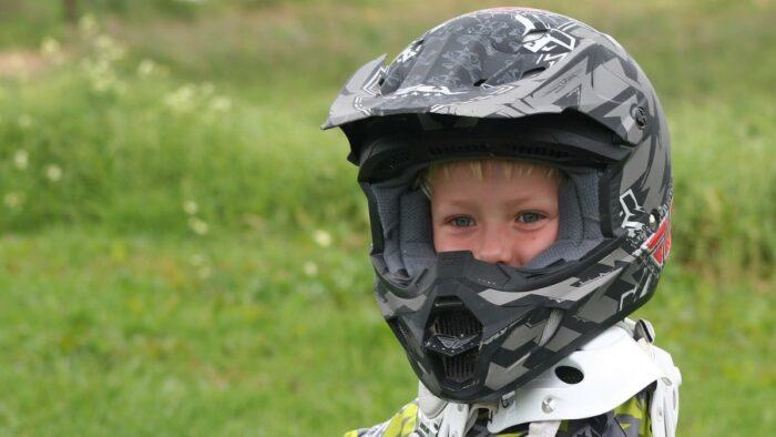 Lockdown Easing Happy Motorbike Rider