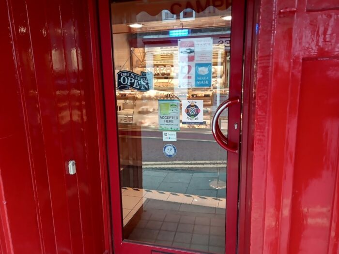 Campbell's Bakery In Crieff Is Motorcycle Rider Friendly