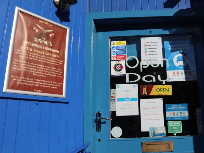 The Gurkhas Restaurant In Crieff Is Motorcycle Rider Friendly