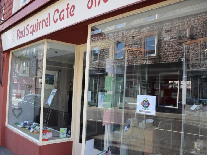 The Red Squirrel Cafe In Crieff Is Motorcycle Rider Friendly