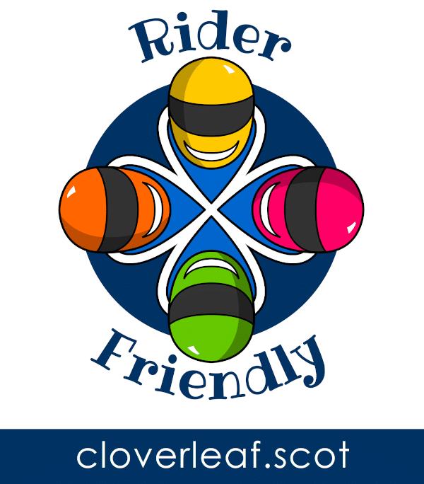 Crieff Cloverleaf is Rider Friendly